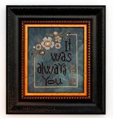 Always You (W/emb) - Stickvorlage Heart In Hand