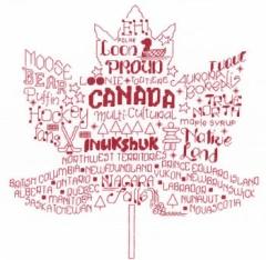 Imaginating Stickvorlage Lets Visit Canada