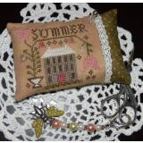 Abby Rose Designs Stickvorlage A Summer Pin Pillow
