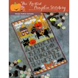 Frosted Pumpkin Stitchery Stickvorlage Sleepy Hollow Sampler