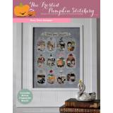 Frosted Pumpkin Stitchery Stickvorlage Story Time Sampler