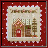 Country Cottage Needleworks Stickvorlage Gingerbread Village Gingerbread House 6