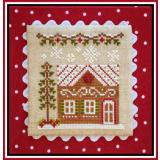 Country Cottage Needleworks Stickvorlage Gingerbread Village Gingerbread House 7