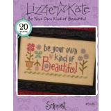Stickvorlage Lizzie Kate Be Your Own Kind Of Beautiful