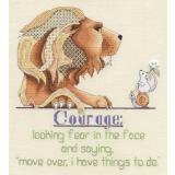 MarNic Designs Stickvorlage Courage