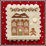 Country Cottage Needleworks Stickvorlage Gingerbread Village Gingerbread House 8