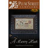 Stickvorlage Plum Street Samplers A Merry Heart