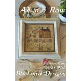 All In A Row - Garden Club #12 - Kreuzstichvorlage Blackbird Designs