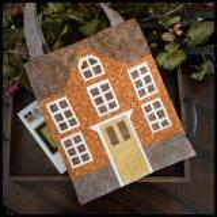 Nähvorlage Little House Needleworks - Little House Tote Bag