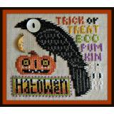 Hinzeit Stickvorlage Birds Eye Halloween