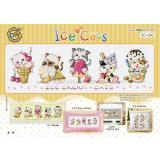 Ice Cats (Katzen) - Stickpackung Soda Stitch