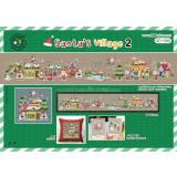 Santas Village 2 (Weihnachten) - Stickpackung Soda Stitch