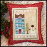 Stickvorlage Country Cottage Needleworks Snow Place Like Home 1