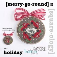 Hands On Design Stickvorlage Merry Go Round