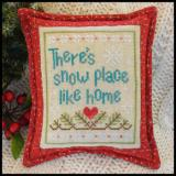 Stickvorlage Country Cottage Needleworks Snow Place Like Home 3