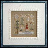 Snow and Ice - Stickvorlage Little House Needleworks