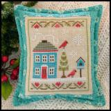 Stickvorlage Country Cottage Needleworks Snow Place Like Home 4