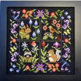 Bobbie G. Designs Stickvorlage Small Animal Sampler