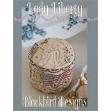 Lady Liberty - Kreuzstichvorlage Blackbird Designs