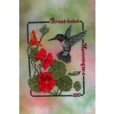 Stickvorlage Crossed Wing Collection Broad Tailed Hummingbird