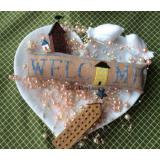 Wee Welcome - June House - Stickvorlage Needle Bling Designs