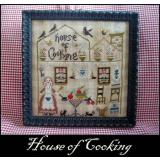 House Of Cooking - Stickvorlage Nikyscreations