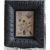 Samplers Not Forgotten Stickvorlage Fleurs 1805