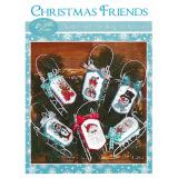 Christmas Friends - Stickvorlage Sue Hillis