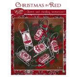 Christmas in Red - Stickvorlage Sue Hillis