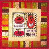 3 Jacks In A Pumpkin Patch - Stickvorlage Vals Stuff