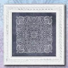 Chalkboard Mandala - Stickvorlage Ink Circles
