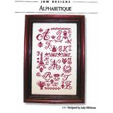 JBW Designs Stickvorlage Alphabetique