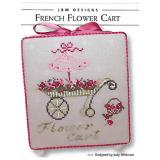 French Flower Cart - Stickvorlage JBW Designs