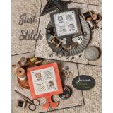 Just Stitch (with buttons) - Stickvorlage Jeanette Douglas