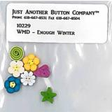 Enough Winter Btn Pack (WAX) - Just Another Button Company