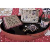 The Scarlett House Stickvorlage American Homestead Sewing Set