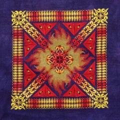 Phoenix Mandala - Stickvorlage Northern Expressions Needlework