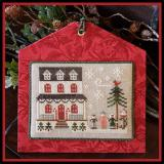 Hometown Holiday - Grandma's House - Kreuzstichvorlage Little House Needleworks