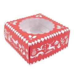 Cupake-Geschenkbox Weihnachten - Rico Design