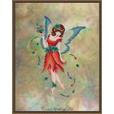 Kreuzstichvorlage Cross Stitching Art - Anneke The Tulip Fairy