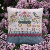 Seasons - Spring - Stickvorlage by Lilas Studio