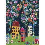 Bloomy Trees - Stickpackung RTO