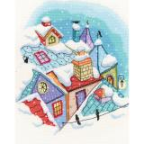 Winter on the Roofs - Stickpackung RTO
