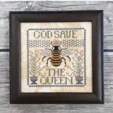 God Save The Queen - Kreuzstichvorlage Annie Beez