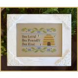 Bee Virtues - Stickvorlage Country Cottage Needleworks
