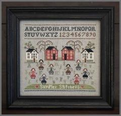 Sampler Stitchers - Stickvorlage Little House Needleworks