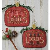 Hands On Design Stickvorlage 12 Days Ladies & Lords