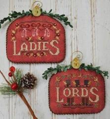 Stickvorlage Hands On Design 12 Days Ladies & Lords