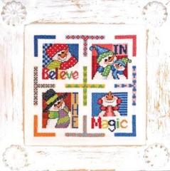 Believe In The Magic - Kreuzstichvorlage Bobbie G. Designs