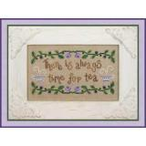 Time For Tea - Stickvorlage Country Cottage Needleworks